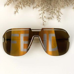 🔥 FENDI FF M 0098/S 3YG/EB Men Sunglasses